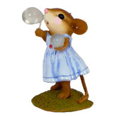 Wee Forest Folk Miniature - Poppy's Bubbles (M-321-Blue)