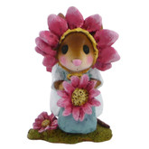 Wee Forest Folk Miniature - Little Miss Pink Petals (M-338b)