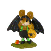 Wee Forest Folk Miniature - Little Halloween Bat (M-345a)