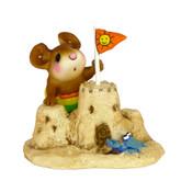 Wee Forest Folk Miniature - Sandy's Castle (M-349-Stripes)