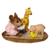 Wee Forest Folk Miniature - Story Time (M-353)