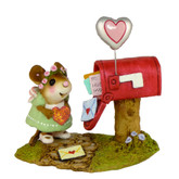 Wee Forest Folk Miniature - Cupid's Special Delivery (M-383a)