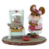 Wee Forest Folk Miniature - My Valentine Kitty (M-431)