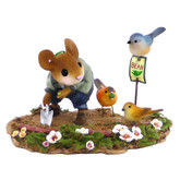 Wee Forest Folk Miniature - The Garden Bandits (M-437-Blue)