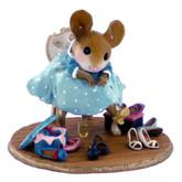 Wee Forest Folk Miniature - Fancy Footwear (M-439-Blue)
