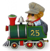 Wee Forest Folk Miniature - Wonderland Express Engine (M-453-Green)