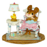Wee Forest Folk Miniature - Rocking Around the Clock (M-463-Blue)