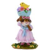 Wee Forest Folk Miniature - Silly Easter Bonnet (M-478)