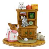 Wee Forest Folk Miniature - Kitty Cupboard (M-480a)