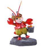 Wee Forest Folk Miniature - Happy Lobster Treater! (M-491)
