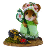 Wee Forest Folk Miniature - Patti's Pot o' Gold (M-501)