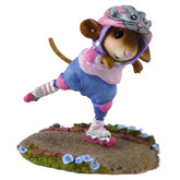 Wee Forest Folk Miniature - Get Inline Girl! (M-505a)