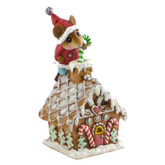 Wee Forest Folk Miniature - Santa's Wee Gingerbread House (TM-4)