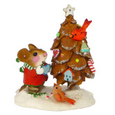 Wee Forest Folk Miniature - The Littlest Pine Cone Tree (TM-6)