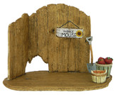Wee Forest Folk Miniature - Barn Door Backdrop (NM-4)