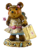 Wee Forest Folk Miniature - Sugar Plum Fairy Bear (BB-15a)