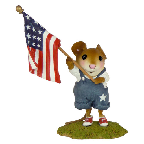 Wee Forest Folk Miniature - Our Stars & Stripes (FB-5a)
