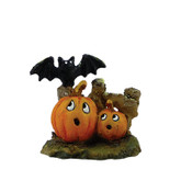 Wee Forest Folk Miniatures - Spooked Pumpkins (A-6)