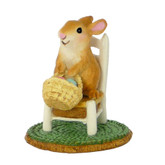 Wee Forest Folk Miniature - Bunny's Wee Chair (A-17)