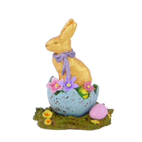 Wee Forest Folk Miniatures - Chocolate Easter Bunny (A-19)