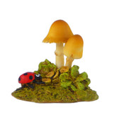 Wee Forest Folk Miniatures - Luck o' the Lady...bug! (A-22)