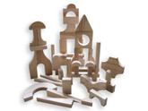 Beka Wooden Blocks - Special Shapes 51 Piece Ultimate Complete Set