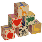 Holgate Wooden Baby Blocks