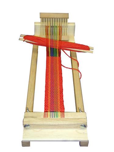 Beka 4 Inch Beginner's Rigid Heddle Weaving Loom