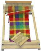 Beka 10 Inch Beginner's Rigid Heddle Weaving Loom