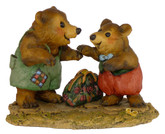Wee Forest Folk Miniature Figurine - Welcome Home! (BB-2)