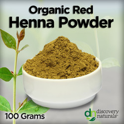 Organic Red Henna Powder (100g)