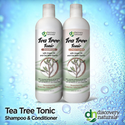 Tea Tree Tonic Shampoo & Conditioner Combo Pack