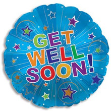 Get Well Soon Starburst Balloon