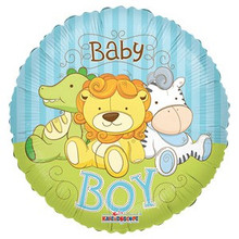 Baby Boy Jungle Balloon