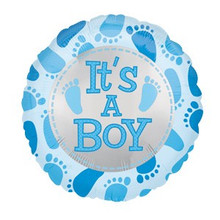 Its a Boy Feet Balloon