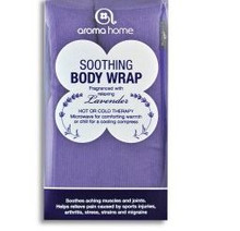 This microwaveable body wrap is 100% cotton and filled with wheat blended with pure lavender leaf to create a therapeutic wrap that can be used hot or cold to ease, relax and soothe.