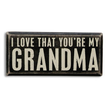Wooden Grandma Plaque