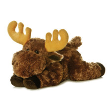 Moosie is the perfect companion for any woodland lover. The strong and powerful moose is a very popular animal, depicted in its most loving and charming form here in Flopsies' own Moosie!
