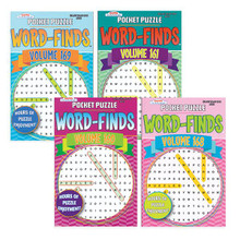 This easy on the eyes word search book provides hours of fun, challenge, and activity.