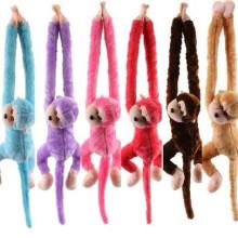 Wishpets Tie Dye Hanging Monkey - Assorted Colors