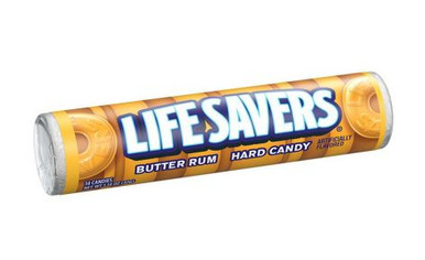 It's important to take a minute to appreciate the simple joys in life. One pleasure that's easy to always have handy is LIFE SAVERS Hard Candy. A classic American candy since 1912, the flavors of LIFE SAVERS Hard Candy have stood the test of time. This pack is for the Butter Rum fans.