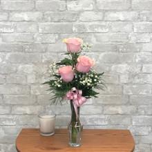 Three-Rose Vase