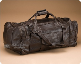 Leather Travel Bags and Back Packs