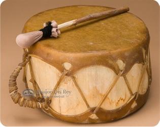 Native American Log Drums