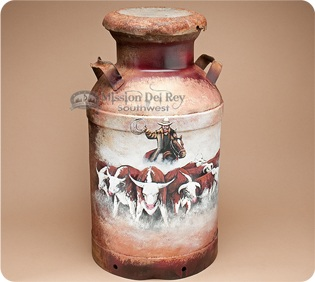 rustic-southwestern-milk-cans