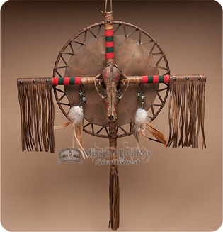 Cultures & Ethnicities Southwestern Table Clock with Native