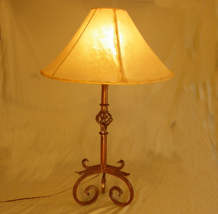 rawhide lamp shades