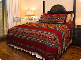 Southwest Bedspreads, Blankets, Throws