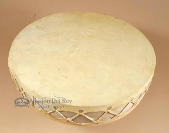12 inch Tarahumara rawhide drum