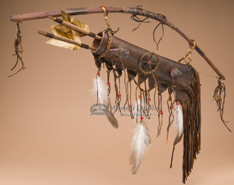 Mini Bow and Quiver Set - Navajo